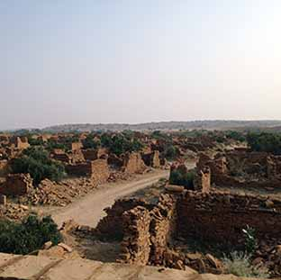 THE GHOST TOWN OF KULDHARA